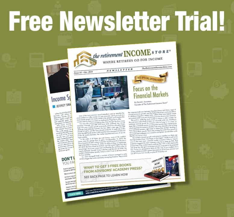 The Retirement Income Store® Newsletter